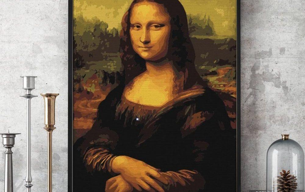 pictura celebra pe numere de la pictorul fericit